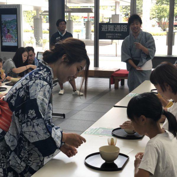 2018年度 8月例会 茶の湯~誇れる伝統を次世代に~