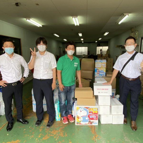 令和2年7月豪雨災害 支援物資 の ご報告